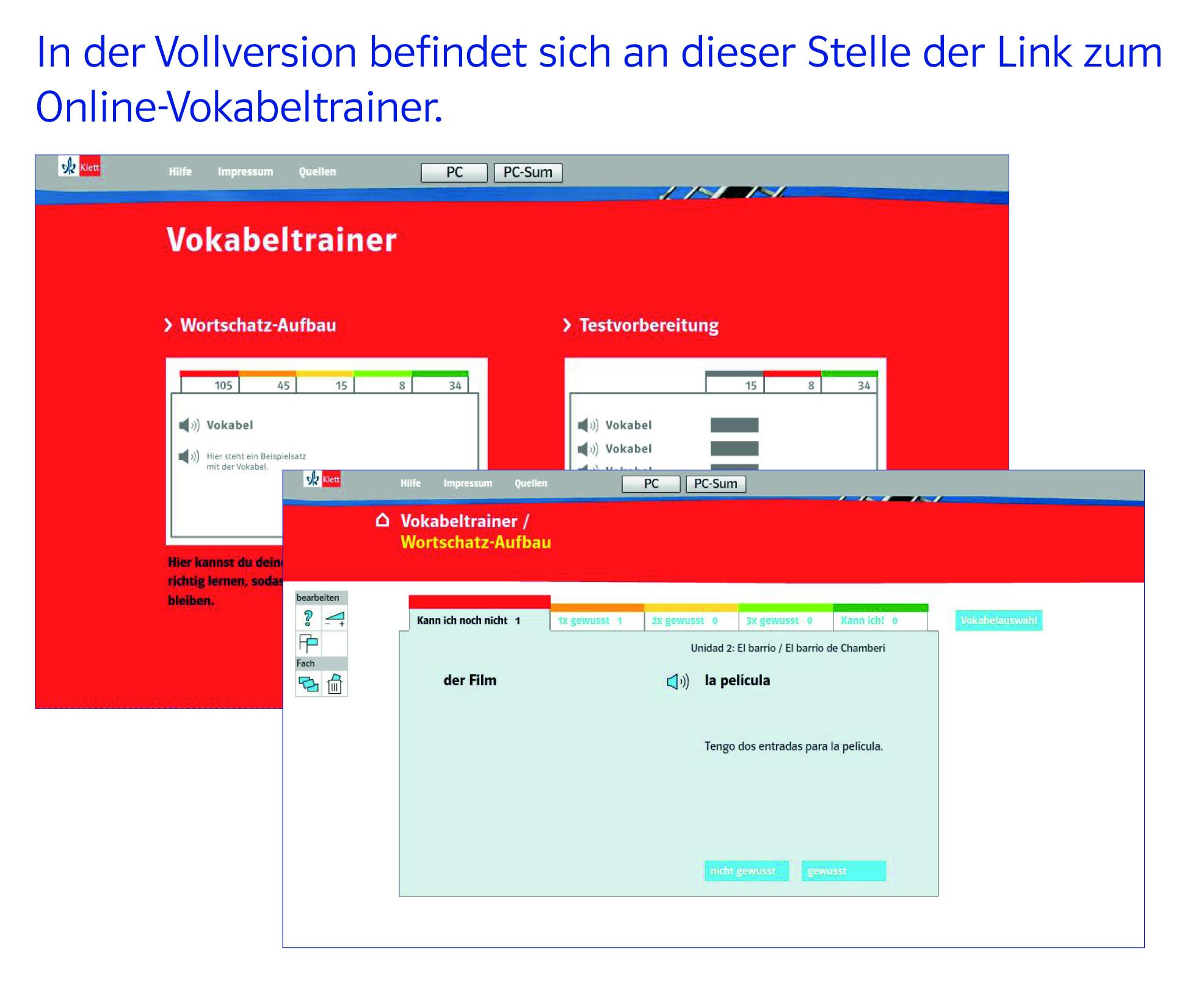 Vamos! ¡Adelante! 1 Digitaler Unterrichtsassistent pro (Demo)